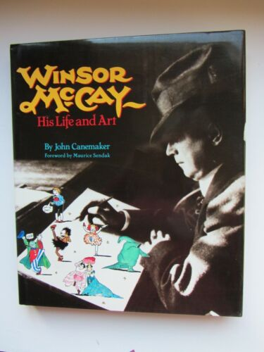 WINDSOR MCCAY HIS LIFE AND ART by john canamaker
