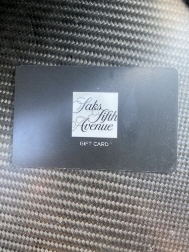 Saks Fifth Avenue Gift Card 100 - $84.50