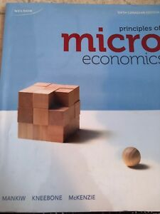 Principles of microeconomics 6th Canadian edition