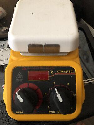 Barnstead Thermolyne Hot Plate Magnetic Stirrer Cimarec 4x4 120v Sp131015