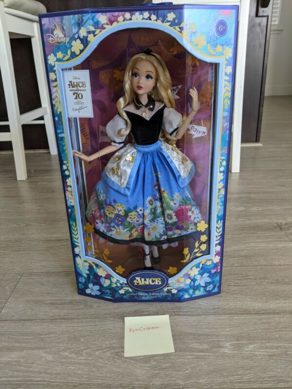 Disney Alice in Wonderland by Mary Blair 70th Anniversary LE. Fast Ship!