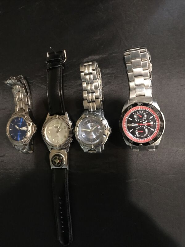 Lot of Four Vintage Non-Tested Watches