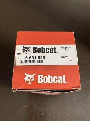 New Bobcat 6691625 Relay Glow Plug Intake Heater Fan A770 S100 S770 S850 T870