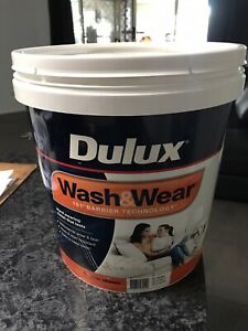 Paint dulux wash and wear 15 ltr