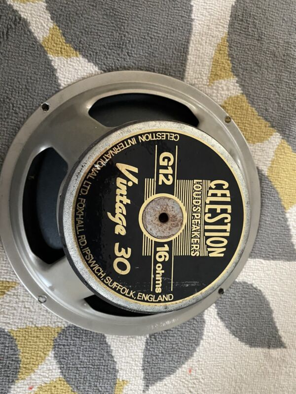 Celestion Vintage 30 Guitar Speaker (16ohm) Made in UK