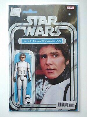 SIGNED Star Wars Han Solo #74 JTC Variant Action Figure John Tyler Christopher
