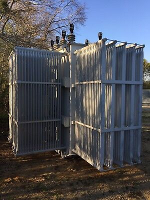 Ge Substation Transformer 7500 Kva Primary 12470 With Taps Secondary 4160y2400