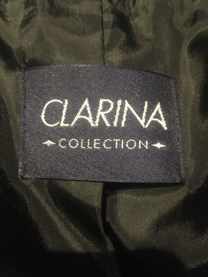 clarina collection jacken schwarz