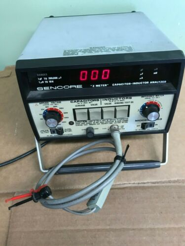 """Sencore LC53 """"Z"""" Meter Capacitor-Inductor Analyzer"""