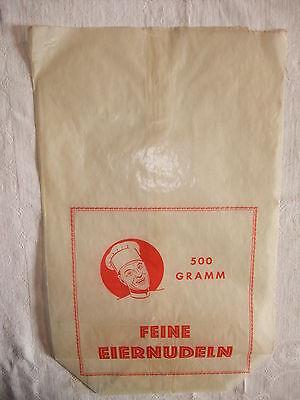 Werbung Reklame alte Tante Emma Laden Tüte Verkaufstüte Reklametüte Nudeltüte