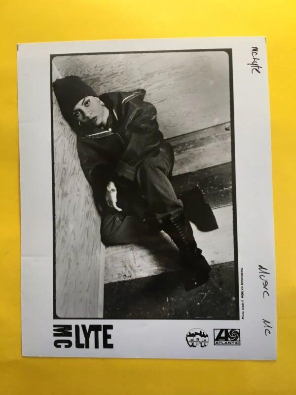 "MC Lyte Press Photo 8x10"", Atlantic Records. See Info."