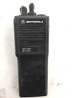 Motorola Mts2000 Flashport H01ucd6pw1bn Handie - Talkie Fm Radio