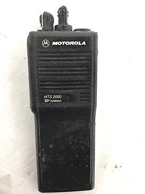 Motorola Mts2000 Flashport H01ucd6pw1bn Handie - Talkie Fm Radio