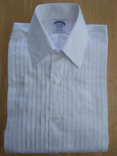 NWT Brooks Brothers White Formal Shirt 14.5-32 Regent Slim Fit MSRP $135