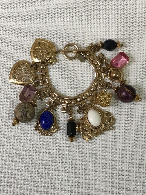 Design By Paula Chunky Charm Bracelet