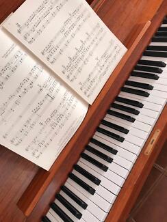 PIANO TEACHER - INNER WEST / ST GEORGE AREA