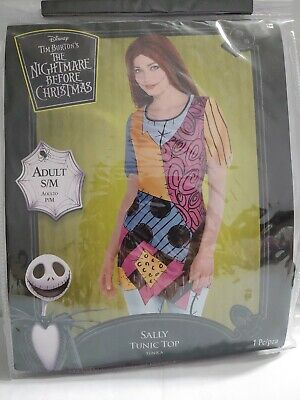 Disney The Nightmare Before Christmas Sally Tunic Top adult S/M