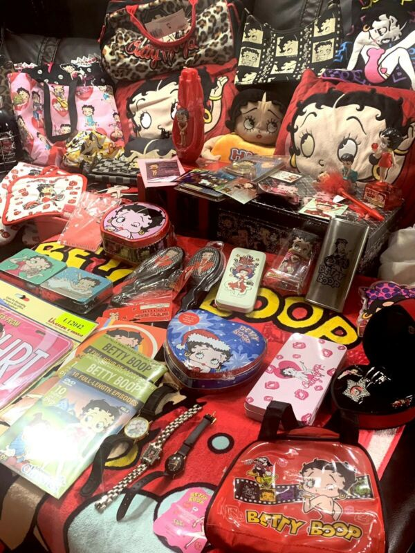 betty boop collection Lot Of 60 Pcs ( Reed Description )