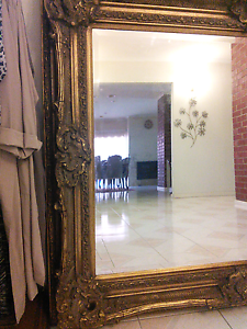 French antique gold wall mirror Roxburgh Park Hume Area Preview