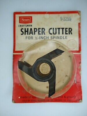Sears Craftsman 9-3295 Shaper Cutter For 12-in Spindle Usa