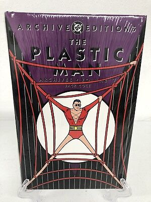 Plastic Man Volume 7 Dc Comics Archive Edition Hard Cover Brand New Sealed