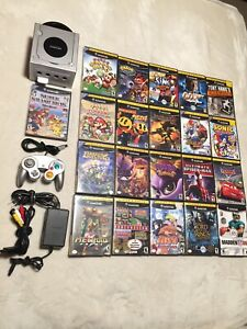 Nintendo GameCube collection + 21 games all mint condition