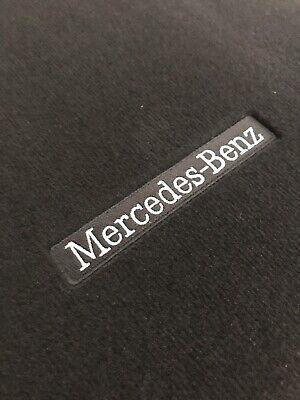 Original Mercedes C-Klasse W205 S205 Fußmatten Satz 4-teilig Schwarz
