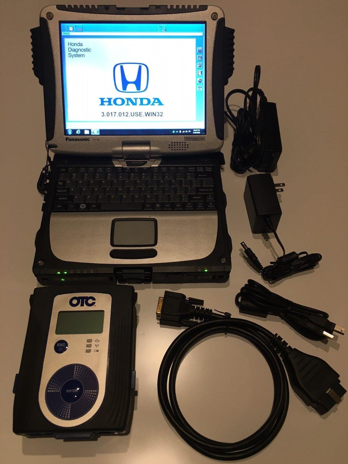 Honda Acura Hds Diagnostic Scanner Kit Mvci Dealer Scan