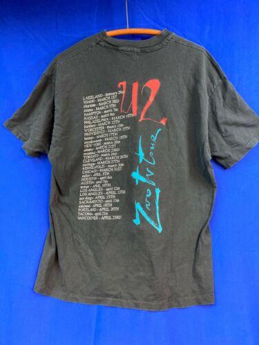 Vintage U2 Concert Tour T-Shirt Lot, Elevation, Joshua Tree, Zoo & Vertigo
