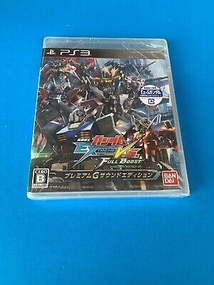PS3 Mobile Suit Gundam Extreme VS Full Boost Premium G sound edition JP, usado comprar usado  Enviando para Brazil
