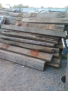 Old railway sleeper's A B an C grade in various sizes Coopers Plains Brisbane South West Preview
