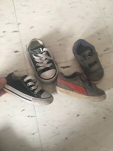 Used Baby toddler shoes sneakers 5c kids