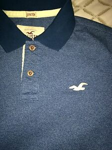 Hollister polo and jeans!!!