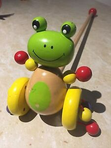 Pull along frog toy Mount Barker Plantagenet Area Preview