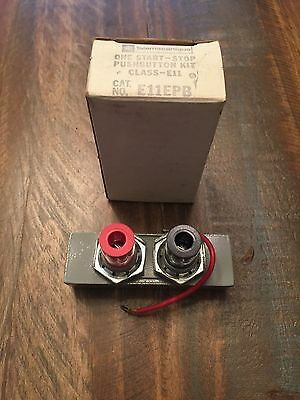 New In Box Telemecanique Start-stop Push Button Kit E11epb
