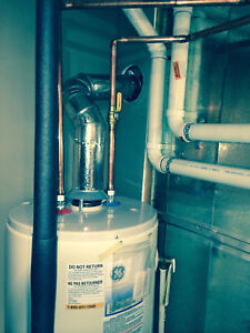 Hot Water Tank complete installation 1100$, Call now !