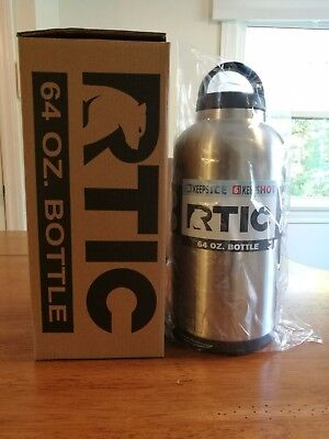 NEW RTIC 64oz Water Bottle - Stainless