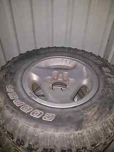 GQ TI rims with Cooper ST 265/75r16 tyres x5 Upwey Yarra Ranges Preview