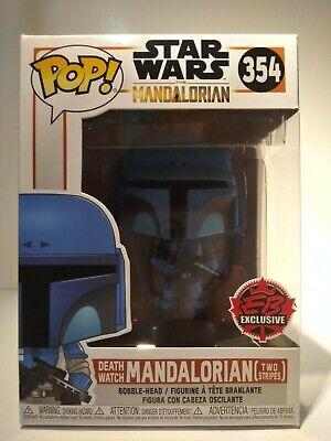 NEW Star Wars Funko Pop Death Watch Mandalorian (Two Stripes) EB Games Exclusive