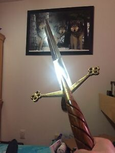 Steel long sword