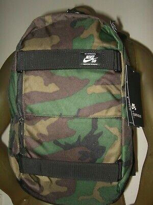 Nike SB Courthouse Iguana Camo Skateboarding Backpack School Bag Laptop Pocket