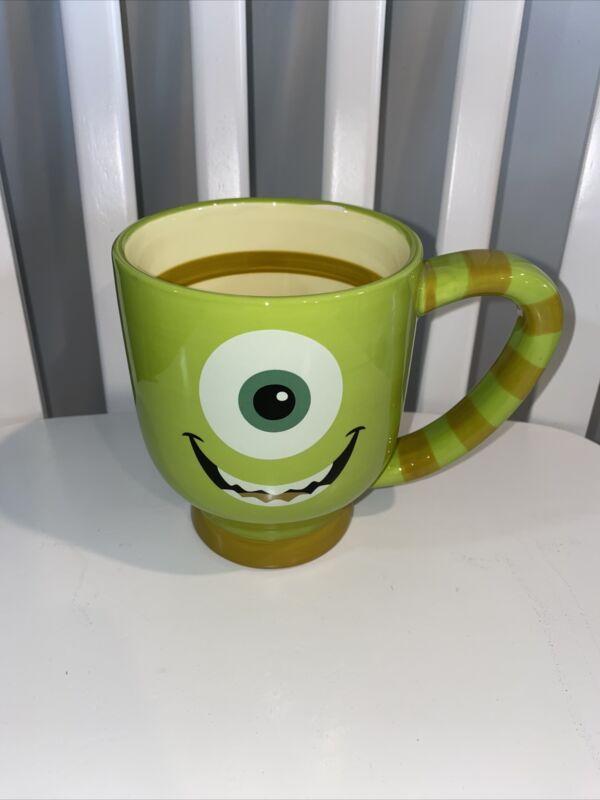 Disney Parks Mike Wazowski Mug Tea Cup 20 Oz Monsters Inc Authentic Pixar