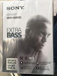 Sony Wireless Stereo Headphones MDR-XB80BS