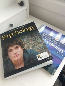 EXCELLENT DEAL PSYCHOLOGY BURTON 4TH EDITION PLUS WRITING GUIDE Soldiers Point Port Stephens Area Preview