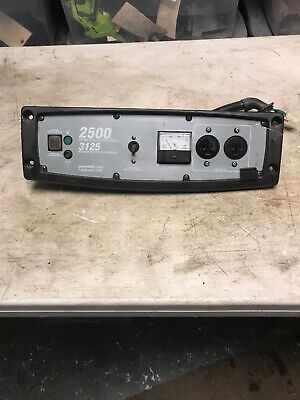 Oem Good Used Powermate 2500 Generator Control Panel