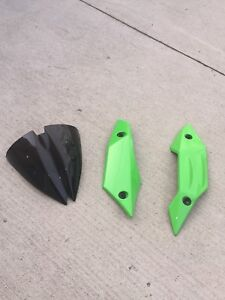 2008 Kawasaki Z1000 OEM windscreen&belly fairings