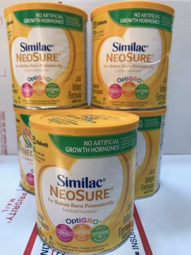 Lot 5 Pack Similac Neosure Baby POWDER FORMULA Premature Infant 13.1 0Z
