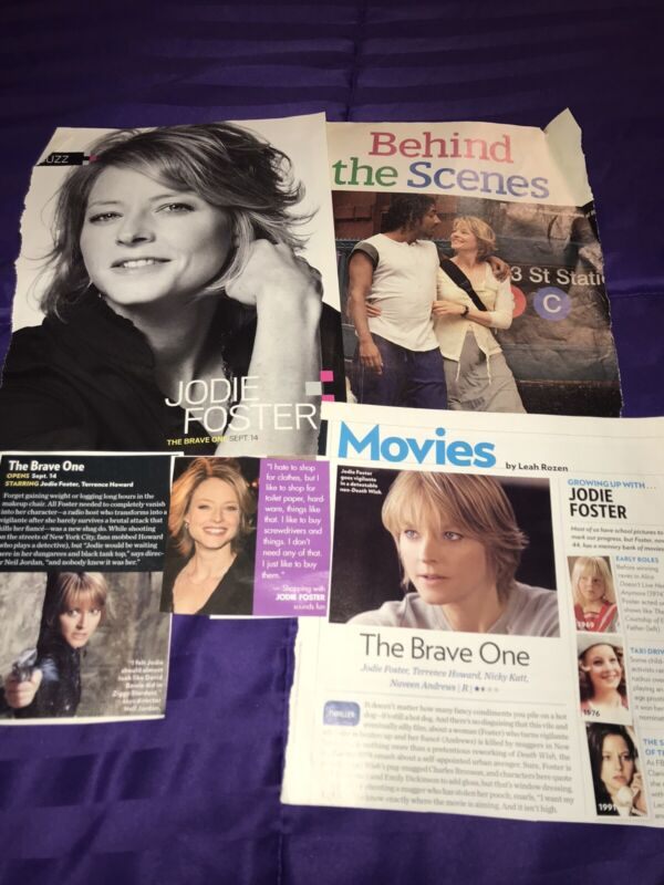 JODIE FOSTER CLIPPINGS