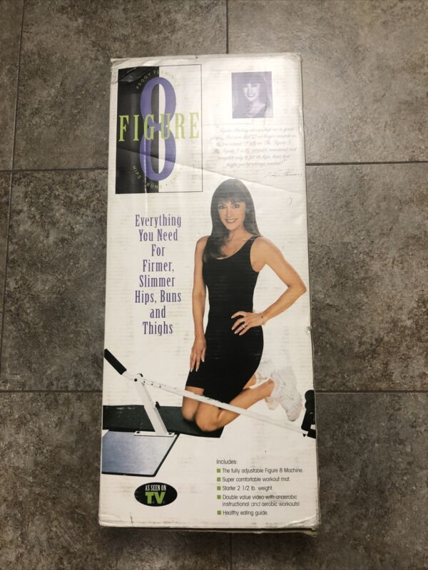 Vintage Peggy Fleming's Figure 8 Hips Buns Thighs Exercise Machine