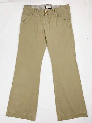Abercrombie and Fitch Pants 8 Pockets Flare  Khaki Trousers